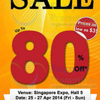 Read more about MPH Bookstores Books SALE Up To 80% Off @ Singapore Expo 25 - 27 Apr 2014