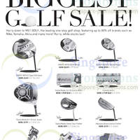 Read more about MST Golf Biggest Golf SALE 25 - 27 Apr 2014