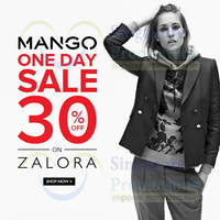 Read more about Mango 30% OFF One Day Online SALE 26 Apr 2014