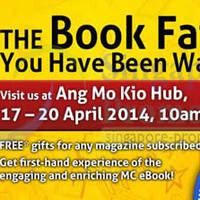 Read more about Marshall Cavendish Education Book Fair @ AMK Hub 17 - 20 Apr 2014