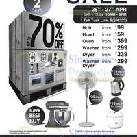 Read more about Mayer Warehouse SALE Up To 70% OFF 26 - 27 Apr 2014