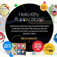 Read more about McDonald's NEW Hello Kitty Bubbly World 23 Apr - 1 Jun 2014