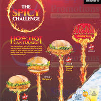 Read more about McDonald's NEW Spicy Burgers & Smokey Drumlets 3 Apr 2014
