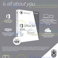 Read more about Microsoft Office 365 $89 Offer With FREE Wireless Mouse Promo 30 Apr - 30 Jun 2014