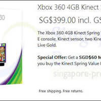 Read more about Microsoft Xbox 360 FREE $60 Gift Card Promo 25 Apr - 30 Jun 2014