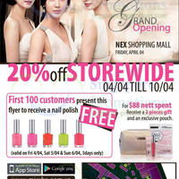 Read more about Missha 20% OFF Storewide Promo 4 - 10 Apr 2014