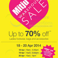 Read more about Mitju Warehouse SALE Up To 70% OFF 18 - 20 Apr 2014