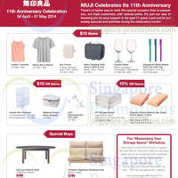 Read more about Muji 11th Anniversary Celebration Offers 4 Apr - 1 May 2014