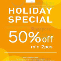 Read more about NET 50% OFF Holiday Special Promotion 18 - 20 Apr 2014