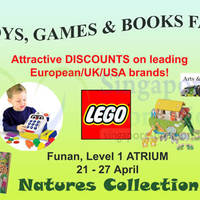 Read more about Natures Collection Games, Toys & Books Fair @ Funan Digitalife Mall 21 - 27 Apr 2014