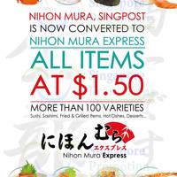 Read more about Nihon Mura $1.50 All Items @ Singapore Post Centre 3 Apr 2014