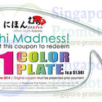 Read more about Nihon Mura Express $1/plate Coupon Promo @ Singapore Post Centre 10 Apr - 30 Jun 2014