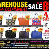 Read more about Nimeshop Branded Handbags Sale Up To 85% Off @ Suntec 18 - 19 Apr 2014