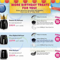 Read more about Philips Avance & Viva Airfryer Birthday Treats Offers 4 Apr - 31 May 2014