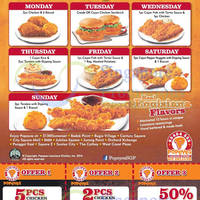 Read more about Popeyes Daily $3.90 Flavour of the Day Deals 7 Apr 2014