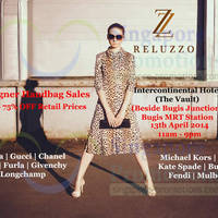 Read more about Reluzzo Up To 75% OFF Branded Handbags SALE @ Intercontinental Hotel 13 Apr 2014