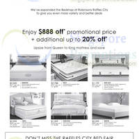 Read more about Robinsons Bed Fair @ Raffles City 4 - 13 Apr 2014