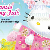 Read more about Sanrio Up To 40% OFF Spring Fair @ YewTee Point 7 - 13 Apr 2014