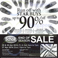 Read more about Scholl Warehouse End of Season Sale @ Chevron House 25 - 27 Apr 2014