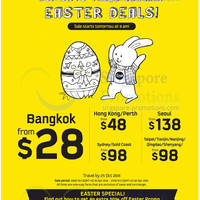 Read more about Scoot Airlines From $28 Easter Promo Air Fares 18 - 20 Apr 2014