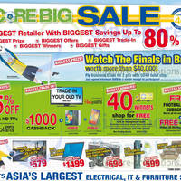 Read more about Courts Score Big Sale Offers 12 - 13 Apr 2014