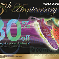 Read more about Skechers 30% OFF 2nd Footwear Promo 9 - 30 Apr 2014