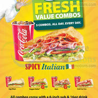 Read more about Subway Spicy Italian Sub is BACK 23 Apr 2014