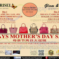 Read more about Surprisel Branded Handbags Sale Up To 75% Off @ Two Locations 26 - 27 Apr 2014