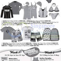 Read more about Takashimaya Swim 'n Surf Promotion Offers 24 Apr - 6 May 2014
