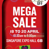 Read more about The Body Shop Up To 70% OFF Mega Sale @ Singapore Expo 18 - 20 Apr 2014