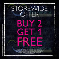 Read more about The Body Shop Buy 2 Get 1 FREE Storewide Promo 25 - 27 Apr 2014