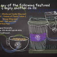 Read more about The Coffee Bean & Tea Leaf Buy 1 Get 1 FREE @ NTU 28 Apr - 9 May 2014