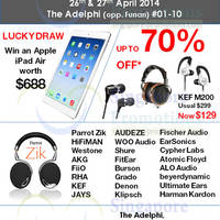 Read more about The Headphone Bar Grand Opening Promo @ The Adelphi 26 - 27 Apr 2014
