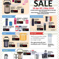 Read more about Isetan Great Living SALE Thermos, WMF & More Offers 18 Apr - 8 May 2014