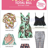 Read more about Topshop 15% Off Holiday Treats 17 - 20 Apr 2014