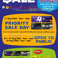 "Read more about Toys ""R"" Us Stock Clearance SALE @ United Square 2 - 4 May 2014"