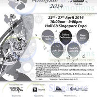 Read more about Travel Malaysia 2014 Fair Singapore Expo @ 25 - 27 Apr 2014