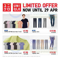 Read more about Uniqlo Supima Cotton, Airism & Other Promo Deals @ Islandwide 25 - 29 Apr 2014