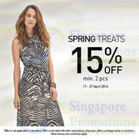 Read more about Wallis 15% Off Spring Treats 17 - 27 Apr 2014