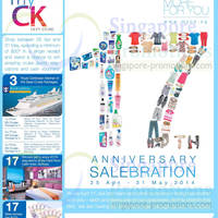Read more about myCK Department Store 17th Anniversary Celebration 25 Apr - 31 May 2014