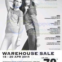 Read more about Winter Time Warehouse SALE Up to 70% Off 18 - 20 Apr 2014