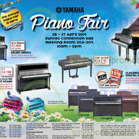 Read more about Yamaha Piano Fair @ Suntec Convention Centre 26 - 27 Apr 2014