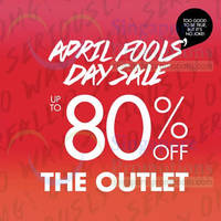 Read more about Zalora Up To 80% OFF April Fool's Day Outlet Sale 1 Apr 2014