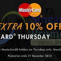 Read more about Zalora Thursdays 10% OFF Storewide For Mastercard Cardholders 17 Apr - 25 Dec 2014