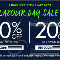 Read more about Zalora 20% OFF Storewide (inc Sale Items) Coupon Codes 30 Apr - 1 May 2014