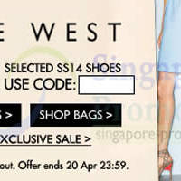Read more about Zalora 25% OFF Nine West Products Coupon Code 19 - 20 Apr 2014