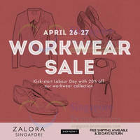 Read more about Zalora 20% OFF Work Wear Coupon Code 26 - 27 Apr 2014