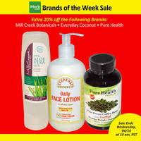 Read more about iHerb 20% OFF Mill Creek Botanicals, Everyday Coconut & Pure Health 11 - 16 Apr 2014
