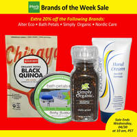 Read more about iHerb 20% OFF Alter Eco, Bath Petals, Simply Organic & Nordic Care 25 - 30 Apr 2014