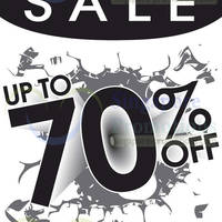 Read more about World of Sports Up To 70% OFF Sale @ Plaza Singapura 18 - 20 Apr 2014